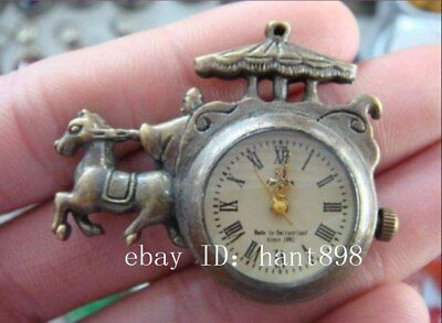 The adornment of the ancient carving collect mechanical pocket watch