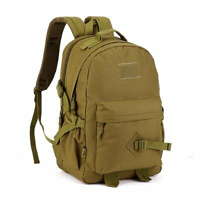 871bcb16f33b 40L TACTICAL DAYPACK MOLLE Assault Backpack Pack Military Rucksack ...