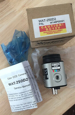 1PC New WAT-250D2 WATEC Color CCD Industrial Camera Camera