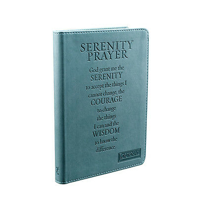Serenity Prayer Journal, Ribbon Marker,240 Lined Pages, By Christian Art Gifts