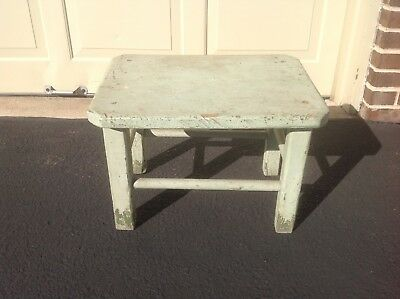 Antique/vintage/old Rustic Bench Or Stool