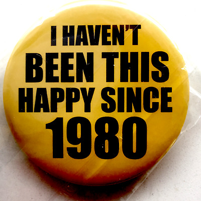 Glossy Richmond Tigers Badge- 'haven't Been So Happy' Classic 57Mm Size!