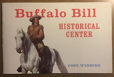 Vintage Buffalo Bill Historical Center Color Brochure Pamphlet Wyoming Cody