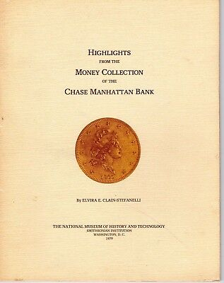 Chase Manhattan Bank Coin Collection Money Book Signed Author Clain-Stefanelli
