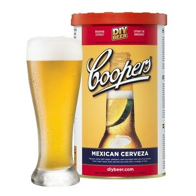 Coopers Mexican Cerveza Beer Home Brew 3 Pack