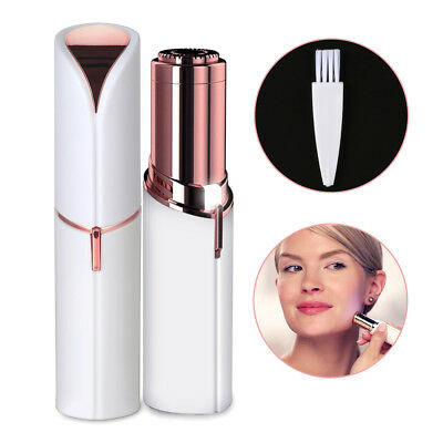Hot Women Painless Facial Face Body Flawless Hair Removal Remover Trimmer Shaver