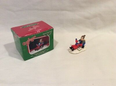 "A Christmas Story Dept 56 ""Ralphie to The Rescue"" 2006 Figurine *Pre-Owned*"