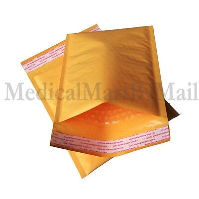 """300 #2 8.5x12 KRAFT BUBBLE PADDED MAILERS SHIPPING SELF SEAL ENVELOPES 8.5"""" x 12"""