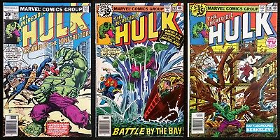 The Incredible Hulk #212, #233 & #234 1st Constrictor, 1st Cameo & Full Quasar