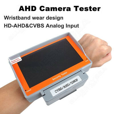 EYOYO Wrist 5inch HD 1080P AHD CCTV Display Monitor Tester Camera Test+Battery