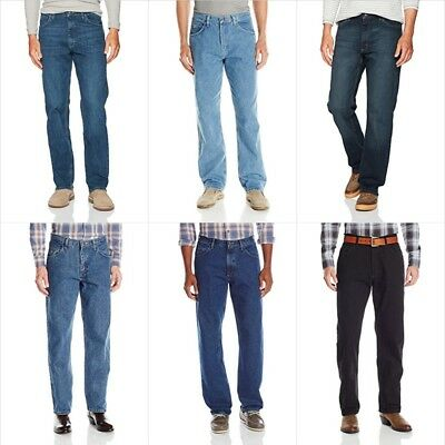 Wrangler Men's Authentics Classic Relaxed Fit Side Pockets Jean Size 28W - 42W