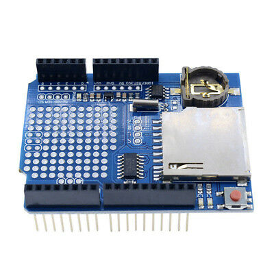 Data Logger Module Logging Shield Data Recorder for Arduino UNO SD Card FR