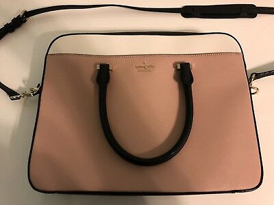 "Kate Spade Saffiano Slim Briefcase 13"" Laptop Computer Messenger Bag Case"