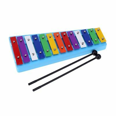 Andoer®13Bar Kid'S Glockenspiel Xylophone Colorful Note Of Educational Toy Baby