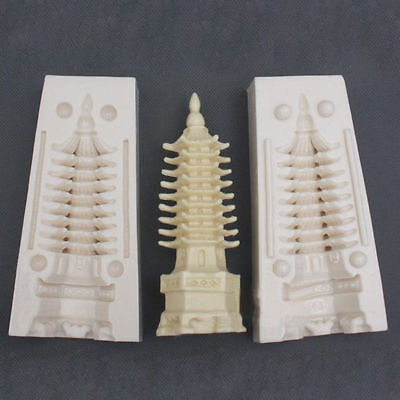 Craft Resin Mold 3D Tower Soap Making Molds Soap Molds Silicone Candle Mold