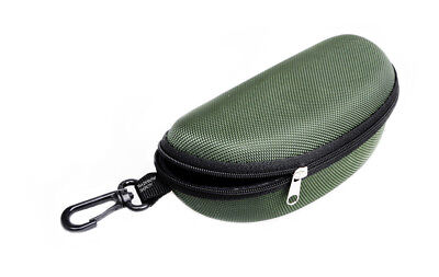 Rainbow Protective Sunglasses Hard Case Zippered / RB-Darkgreen