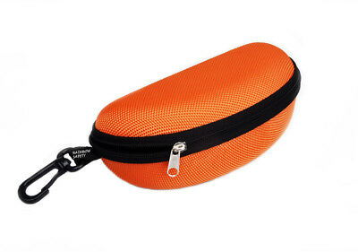 Rainbow Protective Sunglasses Hard Case Zippered / RB-Orange