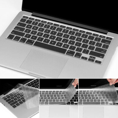 Transparent Keyboard Cover Skin Protect Universal for Apple Macbook Pro 13/15/17