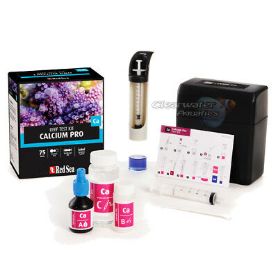 Red Sea Reef Foundation Calcium Ca Titrator Test Kit Marine Aquarium Tank Coral