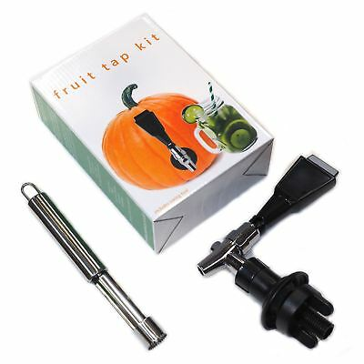 Fruit Keg Tap Kit - ideal for Water Melon, Pineapple, Pumpkin - HALLOWEEN PARTY!