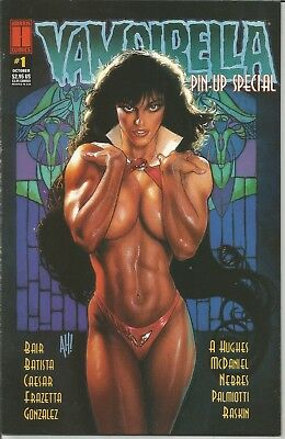 VAMPIRELLA  PIN-UP SPECIAL -  # 1 (January 2003) cover by ADAM HUGHES