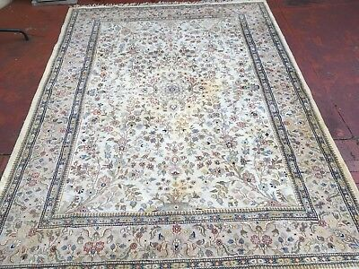 PERSIAN STYLE RUG / CARPET / LARGE ( 2.67m x 3.62m )