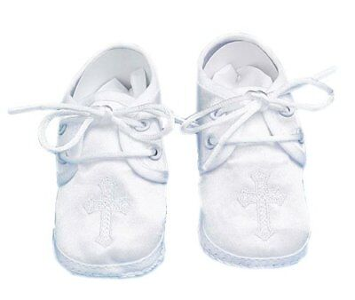 Lauren Madison baby boy Christening Baptism Special occasion Infant Satin Sho...