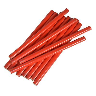 Carpenters Joiners Wooden Pencils Set 12pc Wood Working Marker Marking Tool