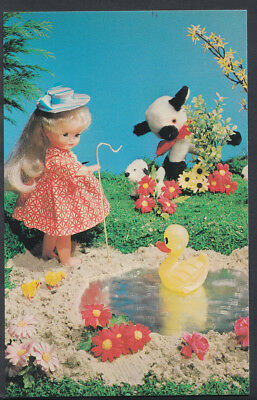 Children Postcard - Childs Toys - Dolls Fairy Tale Scene - Little Bo Peep X515