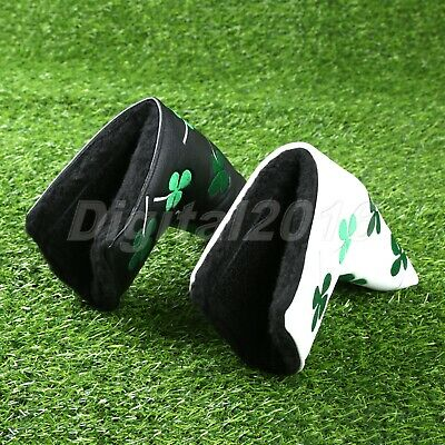 1PC Protable Golf Putter Headcover Four Leaf Clover For Taylormade Ping Callaway