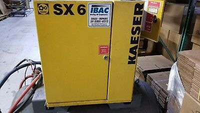 Kaeser SX6 3 phase Air Compressor with tank