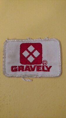 vintage Gravely equipment patch tractor