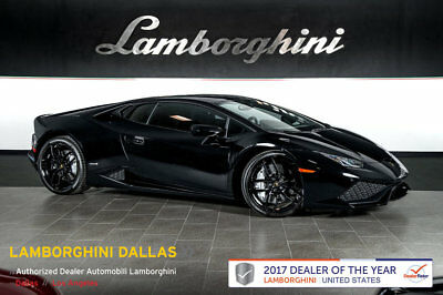 2016 Lamborghini Huracan LP610-4 Coupe 2-Door UNICOLOR SPORTIVO+NAV+RR CAM+PWR HEATED SEATS+LIFT SYS+SPORT EXHAUST