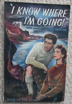 Book, I Know Where I'm Going, Eric Britton from Powell & Pressburger film 1946