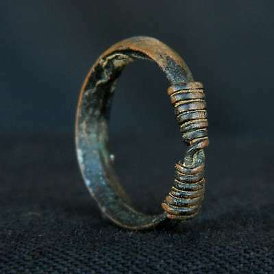 ANCIENT Copper RING Adornment - 18.5 mm DIA - Saharian CHALCOLITHIC