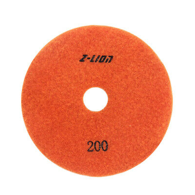 100mm Electroplated Diamond Dry Wet Polishing Pad /Buffing Pad 200Grit