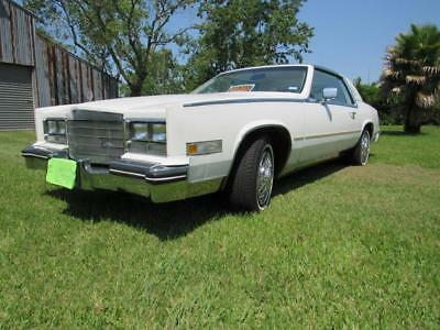 1984 Cadillac Eldorado Biarritz Collector car.   NO RESERVE