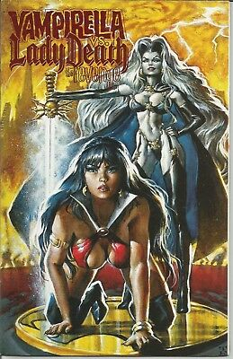 VAMPIRELLA ( vs LADY DEATH) MONTHLY -  #  23 (January 2000) ~ LIMITED EDITION