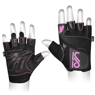 JP Ladies Weight Lifting Gym Gloves Body Building Women Training Fitness CA