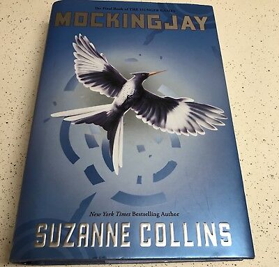 Mockingjay Hunger Games First Edition Hardcover Book Suzanne Collins