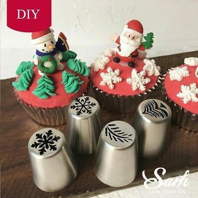 Christmas Snowflake Saint Forming A Decorative Stainless Steel Kitchen Decor