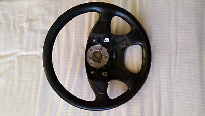 VW Golf Mk3 VR6 Gti Leather steering wheel from Anniversay. Red stitching
