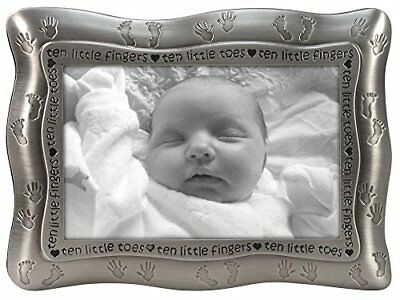 Malden International Designs Ten Little Fingers Ten Little Toes Pewter Pictur...