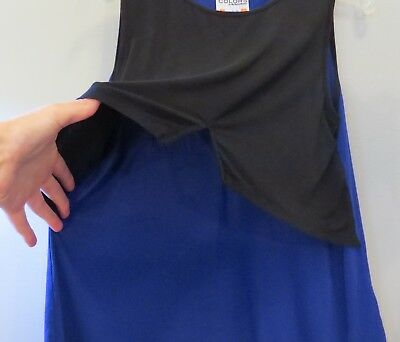 Nursing Top MBM Colors by My Bella Mama Large Blue and Black