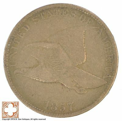 1857 Flying Eagle Cent *YB73