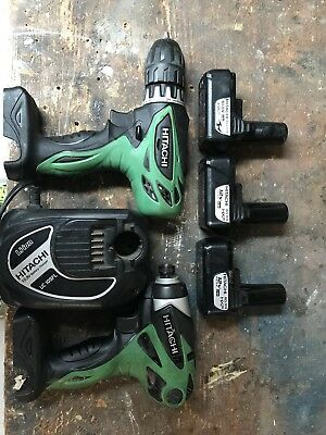 12v hitachi Drill Combo Lot