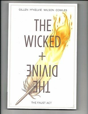 THE WICKED & THE DIVINE VOL.1: THE FAUST ACT (Image Comics Graphic Novel, 2015)