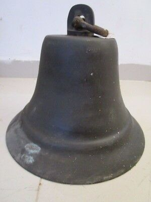 SHIP'S VINTAGE  Marine Brass BELL - Great Sounding - Nautical/ Boat
