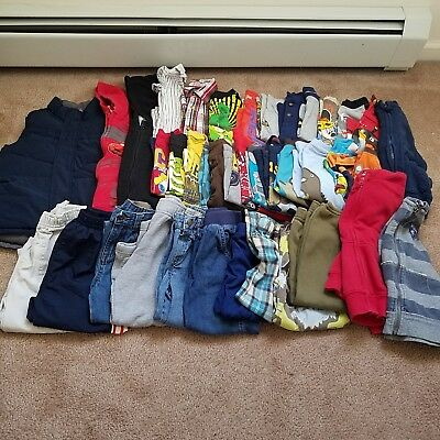 Boys HUGE 40 piece lot of fall/winter clothes, size 3T