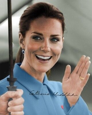 KATE MIDDLETON - Repro-Autogramm 20x25cm, Catherine, Duchess of Cambridge